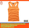 2014 latest dry fit printed sleeveless sport t-shirt for women