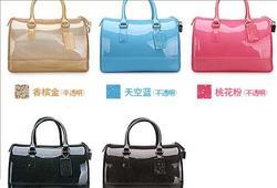 Woman Bag 2013 Fashion Candy Bag Rubber Handbag