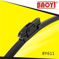 pinch tab type flat wiper blade with 12 adaptors