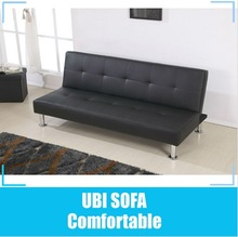 Hot sell leather click clack sofa bed