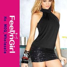 wholesale new elegant black bandage dress ladies night dress sex
