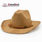 Cheap Plain Wholesale Straw Cowboy Hats