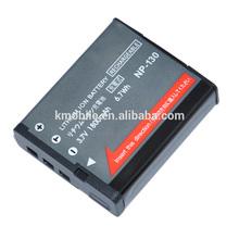 Digital Camera Battery NP-130 For Casio ZR1000 ZR200 ZR300 ZR410