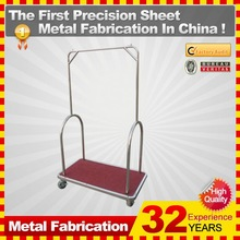 kindle 2014 new durable folding professional customized shopping cart caster for sale