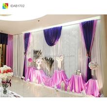 IDA elegant wedding backdrop curtains party accessories