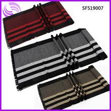 2013 fashion man winter striped modal silk scarf wholesale
