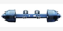 off road vehicle manual lock single axle semi trailer truck bpw fuwa suspension