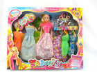 baby girl birthday gifts,princess fashion doll,china doll clothes Y85466