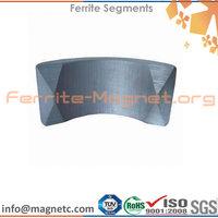 Hard Ceramic Sintered Ferrite Segment Tile Arc Magnets USA Standard C1