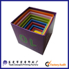 paper cube stacker box educational toy