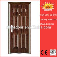 Hot Sell Six Panel Metal Door SC-S060