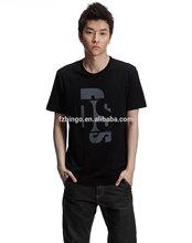 Small Order Custom Mens Extra Long T-shirts