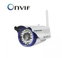 day and night vision waterproof IP66 H.264 megapixel ip cube camera onvif