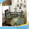 Plaid patchwork cartoon character plaid bedding