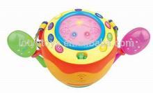 shantou chenghai toys smile face electronic drums for sale Y83623