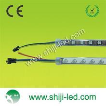 DMX control ws2812b rgb led strip 5050 black/ white PCB
