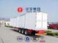 13 medidor de tres ejes corrugación van placa de remolque de camiones en la venta caliente