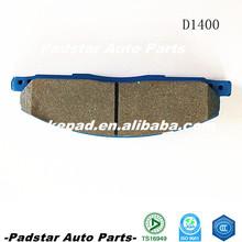 blue print park brake pad auto parts for chevrolet aveo ceramic top quality D1400 auto spare disc brake pad