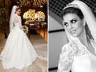 2014 New Design Vestidos De Noiva White Long Sleeves High Collar Vintage Lace A Line Bridal Gown Wedding Dress in Dubai