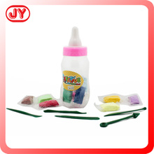 Plasticine modelling clay packaged by plastic bottle with EN71