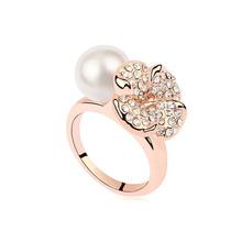 Lastest Design Wholesale Fashion Pearl Ring