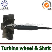 GT2556V 454191shaft& wheel for turbocharger