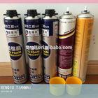 1000ML big aerosol cans polyurethane foam sealant