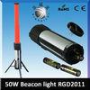 RGD 2030 Red or white LED warning light batons Retractable emergency led tube light