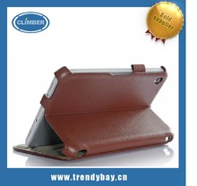 Leather sand Case For Acer W3 810