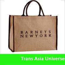 Hot Sell hemp shopping bag wholesale