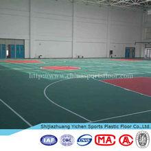BV vinyl sports floor basketball court surface covering