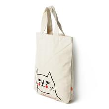 canvas cosmetic bag stripe canvas beach tote bag wholesale