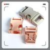 zinc alloy metal side release buckle/ metal paracord buckle/ metal buckle for pet collar