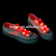LED Shoelaces Flashing Light 70 hours illuminated Colorful String