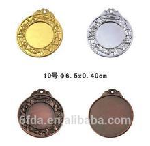 2014 custom brass/gold sport medal