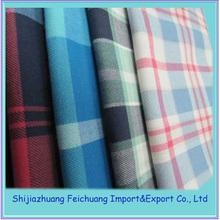 100 cotton cheap sell school uniform tartan plaid fabric