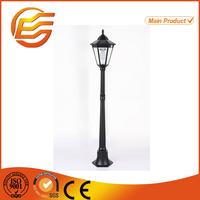 Standing outdoor solar led garden lamp