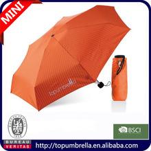 Shenzhen hot sale promotion 5 folding bag umbrella