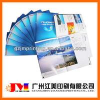 Hot Selling Customized A2 A3 A4 A5 Saddle Stitch Book