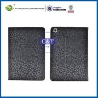Hot Selling Wonderful Price leather portfolio case for ipad mini