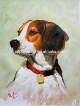 100% Handmade animal painting games dogs painting