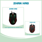 Latest best USB wired optional gaming mouse with colorful led