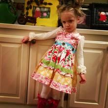 2014 Summer hot selling of children's frozen dress