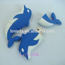 Wholesale alibaba dolphin 500gb usb flash drive/256gb usb flash drive/sexy usb flash drive LFN-203