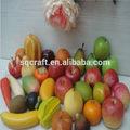 Dekoratif yapay meyve/yapay meyveler büyük/Yiwu Sanqi zanaat fabrika