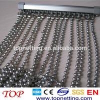 hanging door metal beads curtain