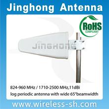 Dual band log period dipole yagi antenna