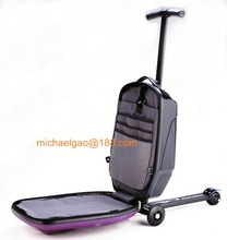 step pedal scooter Travel scooter bag trolley luggage