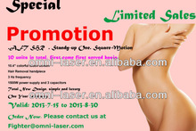 2014 hot sales! beauty salon use / Popular IPL hair removal/ permanent fast ipl hair removal equipment