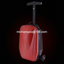 scooter luggage box kids school trolley bag vip tr trolley luggage Travel scooter bag
